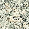 Richytsia, 1910—1916, map.jpg