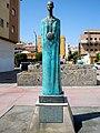 Rincón de la Victoria - Estatua de la diosa fenicia Malac o Noctiluca 1.jpg