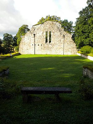 Bridget Haraldsdotter -  Riseberga Abbey, the burial ground of queen Bridget.