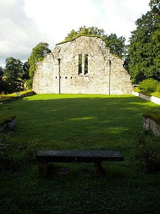 Bridget Haraldsdotter -  Riseberga Abbey, the burial ground of queen Bridget.