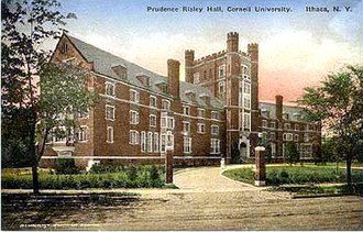 Risley Residential College - Risley as seen on a postcard, circa 1910s
