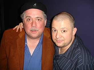 Rob Bartlett - Bartlett with fellow comedian Jim Norton at Carolines on Broadway in 2006