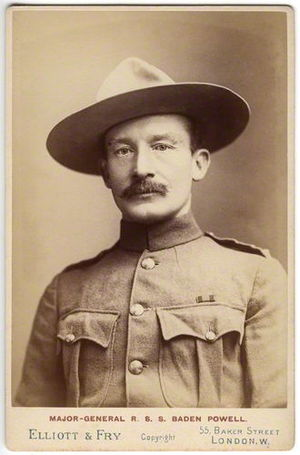 South African Constabulary - Major-General Robert Baden-Powell, the first Inspector General of the South African Constabulary.