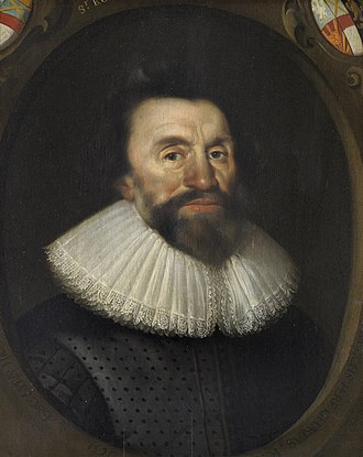 Sir Robert Cotton, 1st Baronet, of Connington - Robert Cotton in 1629, the year that he was forced to close the Cotton library by Charles I because the content within the library was believed to be harmful to the interests of the Royalists
