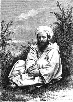 "Robert Spence Watson - A Visit to Wazan: ""The Author in Moorish Dress"""
