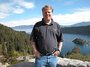 Photo of Robert Scoble, an American blogger, t...