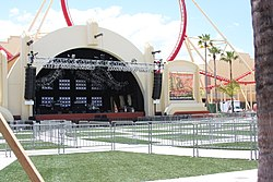 Universal Music Plaza Stage located within Universal Studios Florida