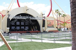 Universal Music Plaza Stage - Image: Rockit Construction April 2009 15