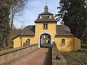 Rösrath - Gateway of Eulenbroich castle