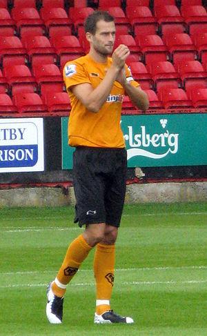 Roger Johnson (footballer) - Johnson in Wolves pre-season, 2011