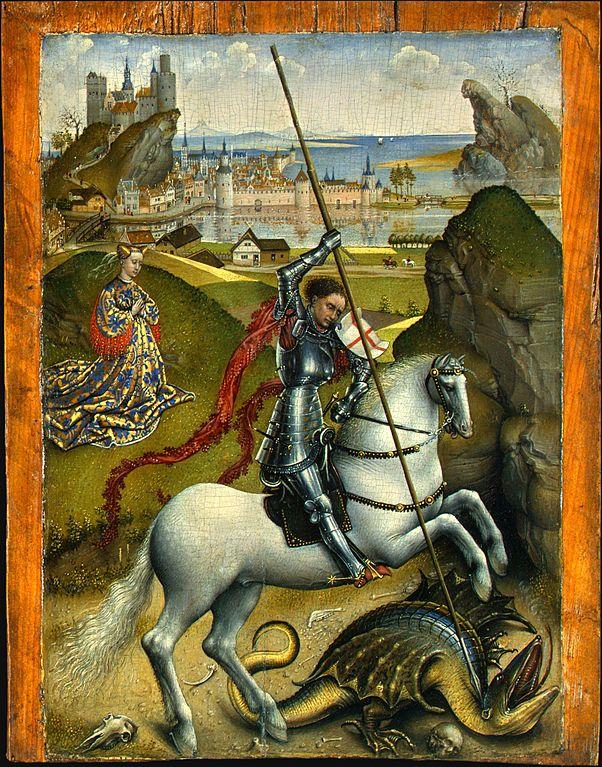 http://upload.wikimedia.org/wikipedia/commons/thumb/8/82/Rogier_van_der_Weyden_-_Saint_George_and_the_Dragon%2C_NGA%2C_Washington.jpg/602px-Rogier_van_der_Weyden_-_Saint_George_and_the_Dragon%2C_NGA%2C_Washington.jpg