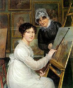 Rolinda sharples selfportrait ca1820