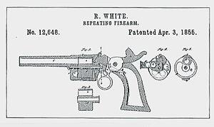 Rollin White - Rollin White patent, Apr. 3, 1855