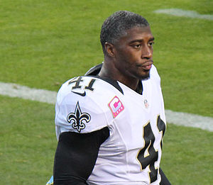 Roman Harper - Harper with the New Orleans Saints in 2012