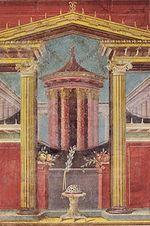 Давньоримська фреска з боскореале 43