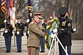 Romanian Land Forces Chief of Staff places wreath at the Tomb of the Unknown Soldier (32770419845).jpg
