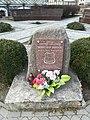 Romuald Kozioł monument in Pisz.jpg