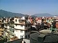 Rooftop lunch in Durbar Square, Kathmandu, Nepal (24775078459).jpg
