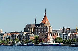 Rostock Place in Mecklenburg-Vorpommern, Germany
