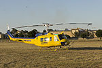 Rotorwing Helicopter Services (VH-UHY) Garlick Bell UH-1H at Wagga Wagga Airport.jpg