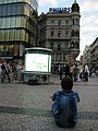 Round TV & football fan in Praha - panoramio.jpg