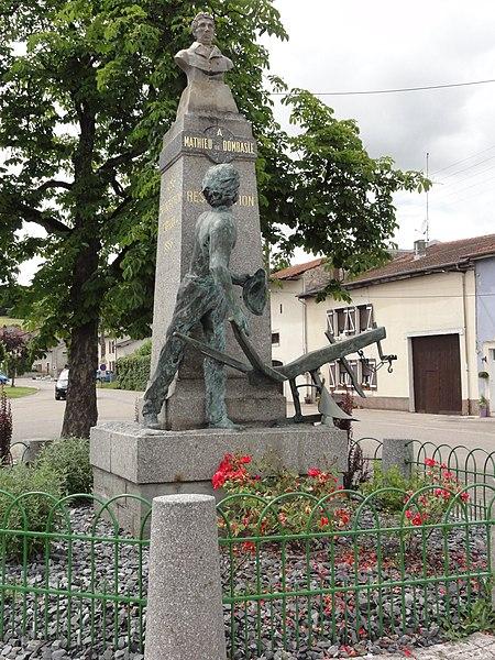 Roville-devant-Bayon (M-et-M) mémorial école d'agriculture