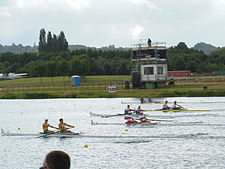 Rowing at the 2012 Summer Olympics – Men's coxless pair Final A (5).JPG