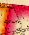 Roxham Road on 1856 map.png