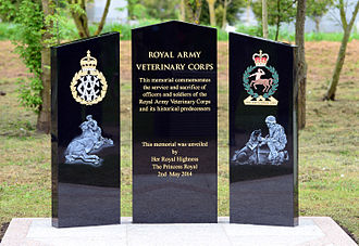 Royal Army Veterinary Corps - RAVC Memorial, National Memorial Arboretum