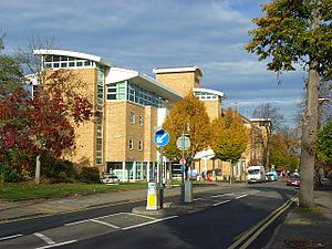 Royal Berkshire Hospital - The new entrance block for the Royal Berkshire Hospital, on Craven Road
