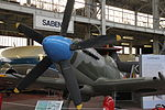 Royal Military Museum, Brussels - Supermarine Spitfire Mk XIV (11448776414).jpg
