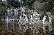 Royal Park of the Palace of Caserta - Diana and waterfall.jpg