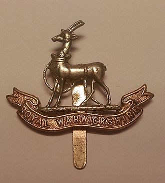 Royal Warwickshire Regiment - Royal Warwickshire Regiment Cap Badge