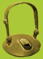Rudarska lampa iz srednjovjekovnog Brskova.png