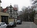 Rue de la Truite, enceinte médiévale, marché couvert (Colmar).JPG
