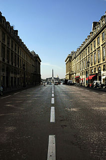 Rue Royale, Paris street in Paris, France