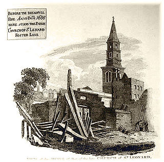 St Leonard, Foster Lane Church in London