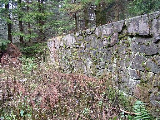 Ruiny basenu kapielowego na Magurze
