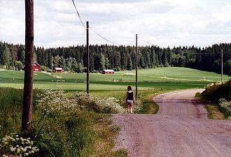 South Karelia - Image: Rural landscape in Finland