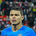Russia-Brazil 23 March 2018 (cropped) Thiago Silva.jpg