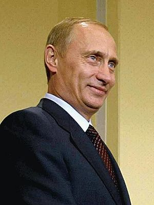 Português: President Vladimir Putin of the Rus...