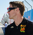 Ryan Hunter-Reay biking at Grand Prix St Pete.jpg