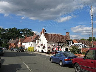 Ryton-on-Dunsmore - Image: Ryton on Dunsmore main street geograph.org.uk 27514