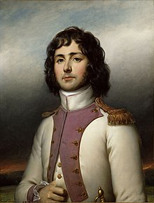 Horace Sébastiani in uniforme da tenente del 49º Reggimento di fanteria di linea nel 1793. Ritratto di Paulin Guérin (1783-1855), 1835. Reggia di Versailles.