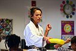 SAC gets karate lesson 161209-F-CJ211-005.jpg