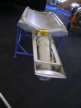 SEPR 84 - Image: SEPR Raketen Antrieb für Mirage