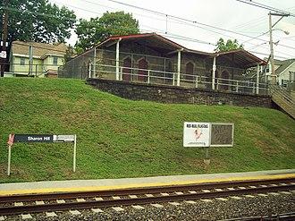 Sharon Hill station (SEPTA Regional Rail) - Sharon Hill station