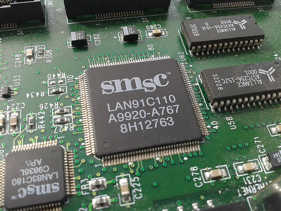 SMSC LAN91C110 ethernet chip