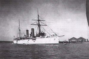 SMS Zenta - SMS Zenta after commissioning 1899