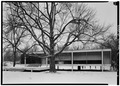 SOUTH ELEVATION - Edith Farnsworth House, 14520 River Road, Plano, Kendall County, IL HABS ILL,47-PLAN.V,1-4.tif